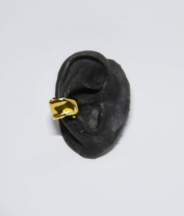 Pendiente earcuff bañado oro